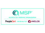 MSP Trainings Organization Accredited by Axelos