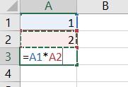 Zo vermenigvuldig je cellen in Excel